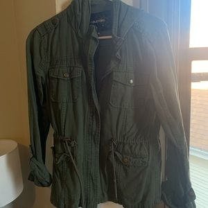 Maurice's Military Style Zip up